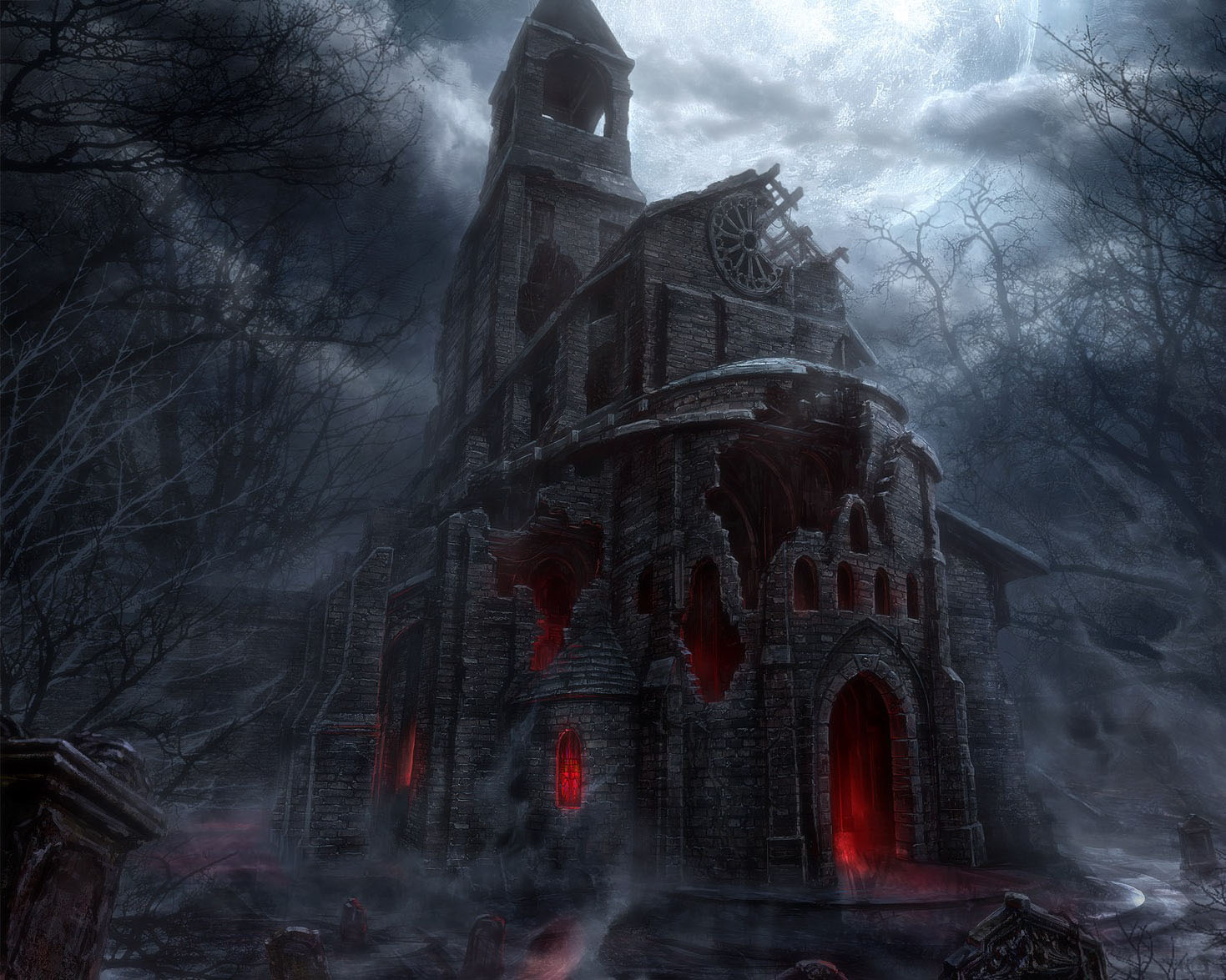 Fantasy Forest 3d Live Wallpaper Horror Achtergronden Hd Wallpapers