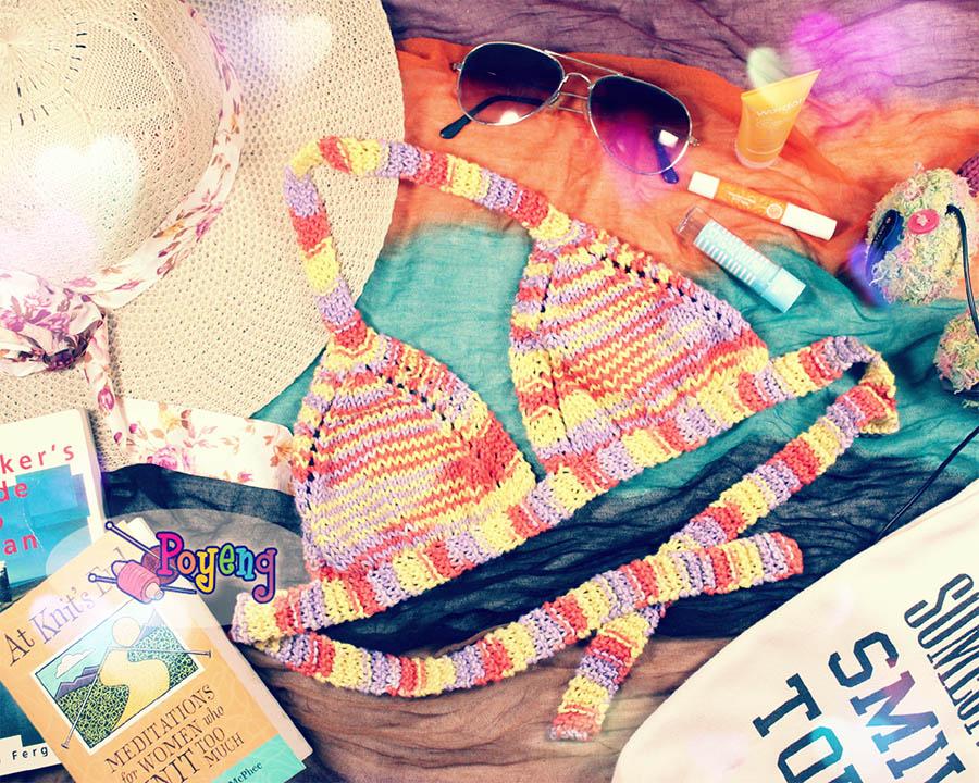 Ajeng Belajar Merajut: Rajut Free Knitting Pattern: Addictive Bikini ...