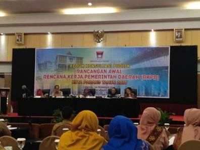 Pemko Padang Prioritaskan 5 Program Utama