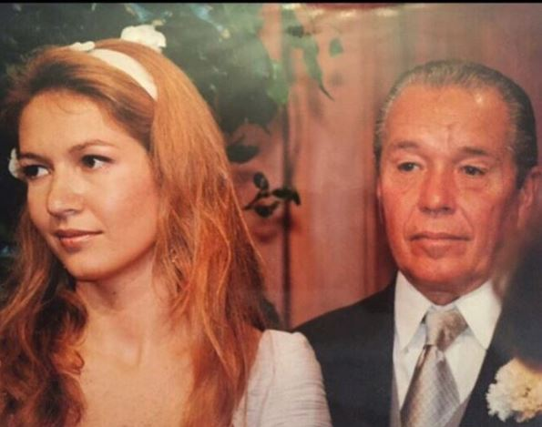 P.G Meirelles e Donata filha