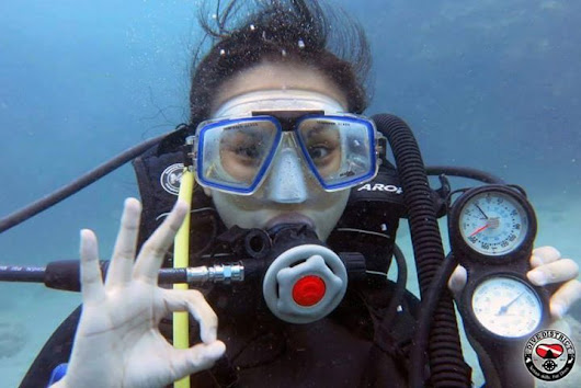 Flashback Friday: My First Scuba Diving Experience
