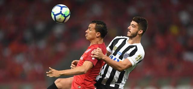Inter e Santos empatam e empacam no Campeonato