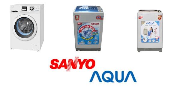 Sửa Máy Giặt Sanyo - Aqua Tại Thanh Hóa