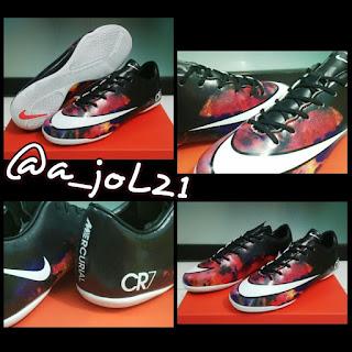 Sepatu Futsal - Nike Mercurial Vapor X CR7 ( IC ) Made in Italy Ready Size  39 40 41 42 43. Harga Rp.2xx.xxx 5129aff456980