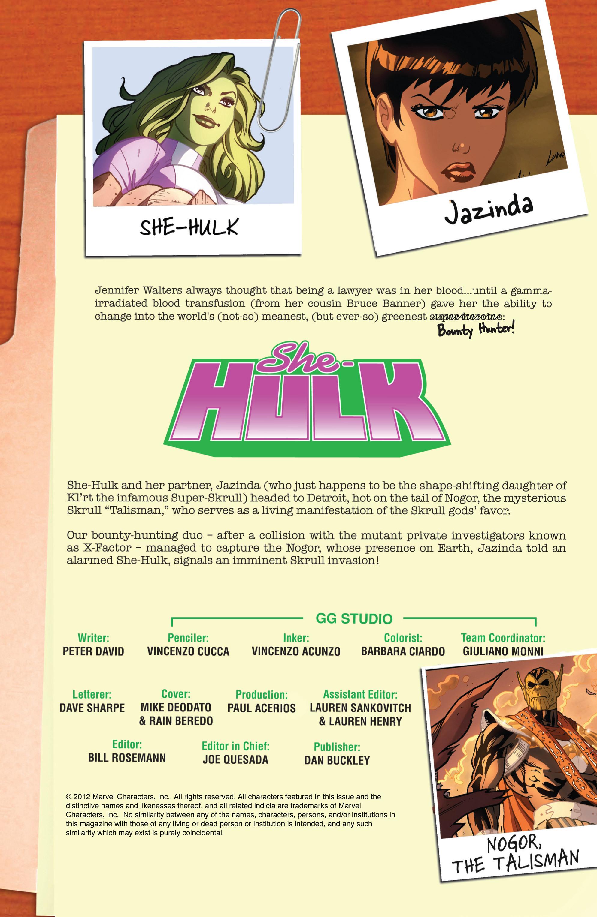 Read online She-Hulk (2005) comic -  Issue #32 - 2