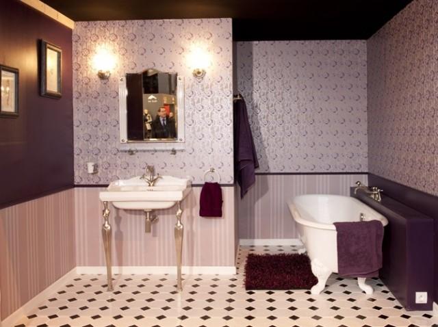 Boiserie c charme retro in bagno - Bagno in inglese ...
