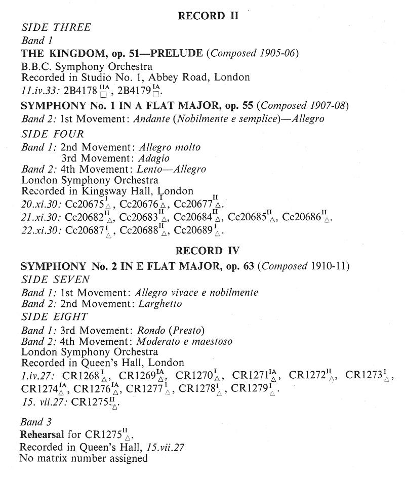 The Music Parlour ~ Historical: 24/48: Edward Elgar / LSO - Elgar