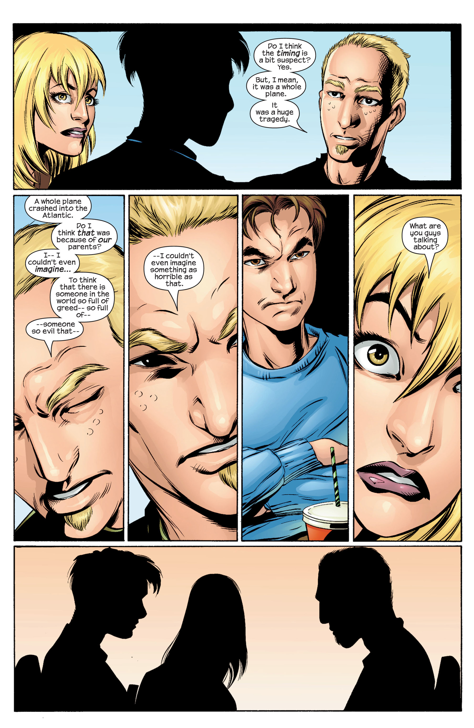 Read online Ultimate Spider-Man (2000) comic -  Issue #34 - 14