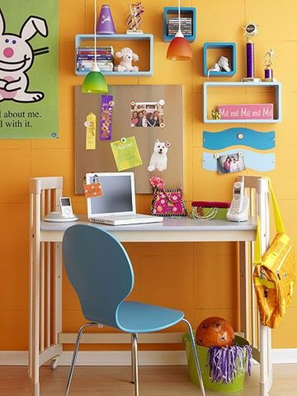 Ideas for children's study areas 1
