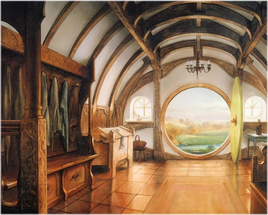 deanna time: HOBBIT INSPIRED DECOR - Hobbit Houses Inspired