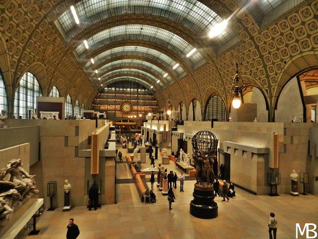 museo della Gare d'Orsay parigi