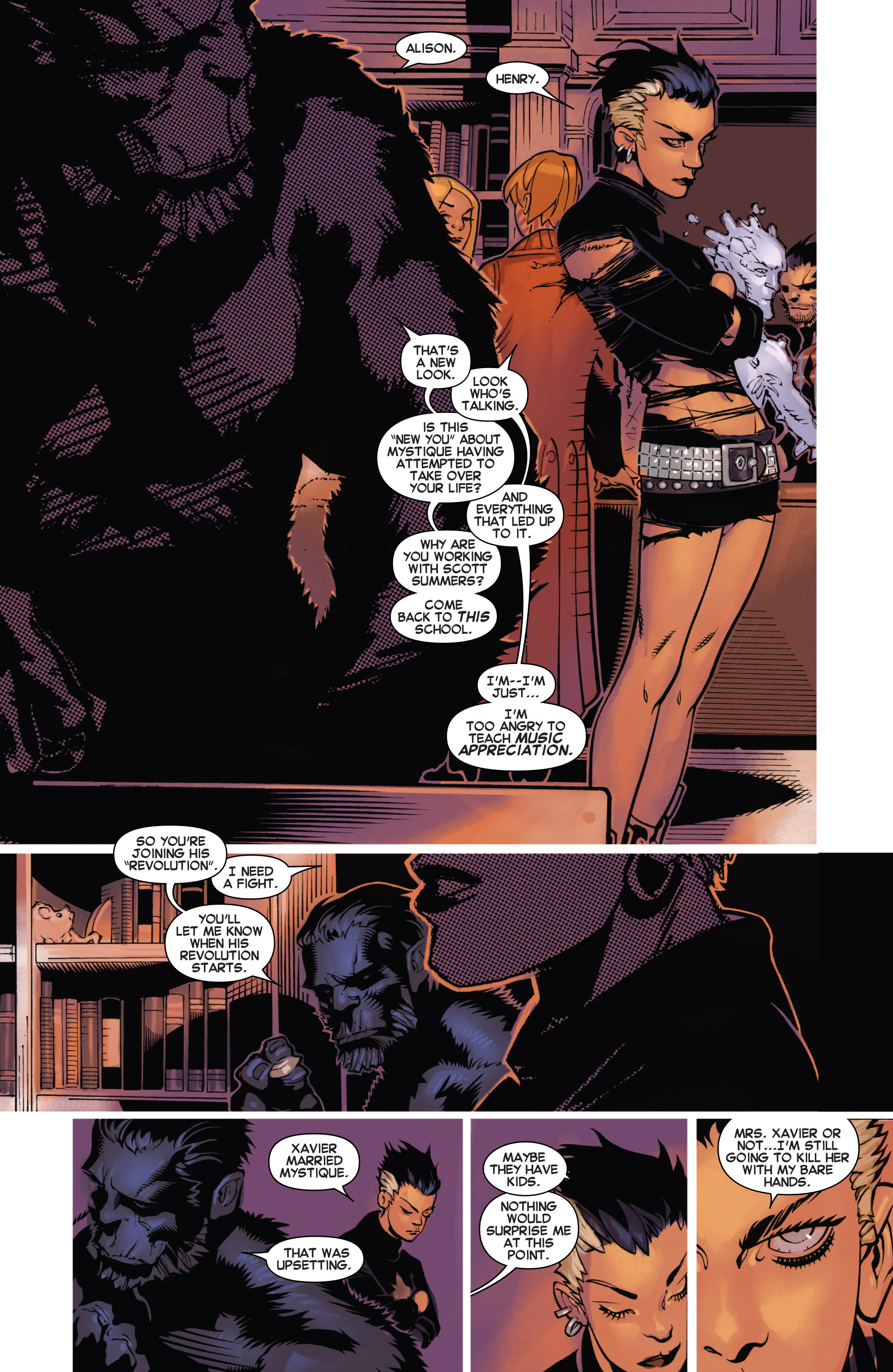 Read online Uncanny X-Men (2013) comic -  Issue # _TPB 4 - vs. S.H.I.E.L.D - 126