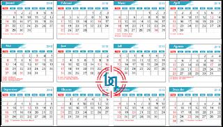 Download Free Template Kalender 2018 Editable Format Cdr Lengkap (Corel Draw)