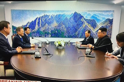 b338f390e3fd ICHEOKU says God s speed to the two brothers in their effort to finally  bury their hatchet towards finally rejoining the two Koreas again.