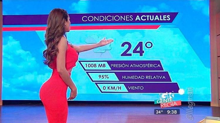 the Mexican TV presenter Emma Garcia