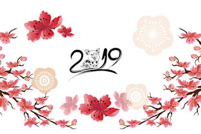 Tin nhắn xếp hình chúc mừng năm mới đẹp nhất 2020