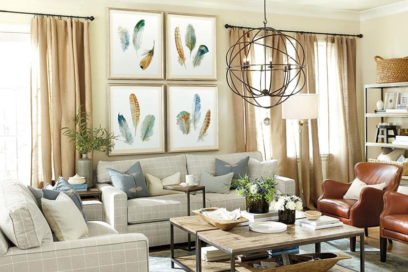 8 modi per riempire lo spazio dietro il divano home for Parete dietro divano