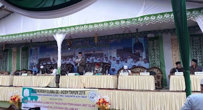 Ringkasan Muzakarah Ulama Aceh 28 Januari 2018 di Dayah Busnanul Huda Paya Pasi Aceh Timur