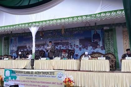 Ringkasan Muzakarah Ulama Aceh di Dayah Busnanul Huda Paya Pasi Aceh Timur