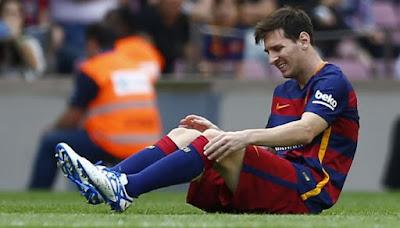 Messi lesión