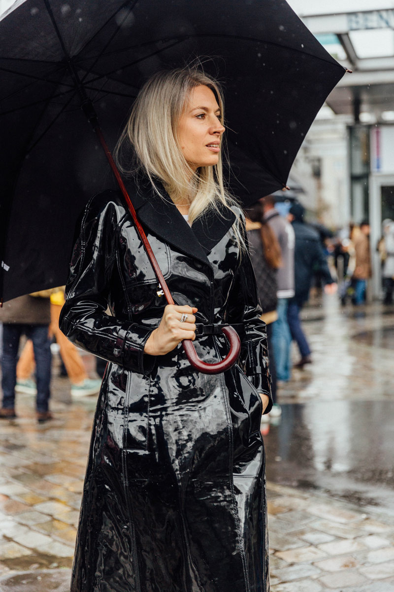 How to wear vinyl for 2018