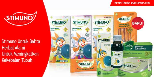Stimuno Untuk Balita Herbal Alami Untuk Meningkatkan Kekebalan Tubuh