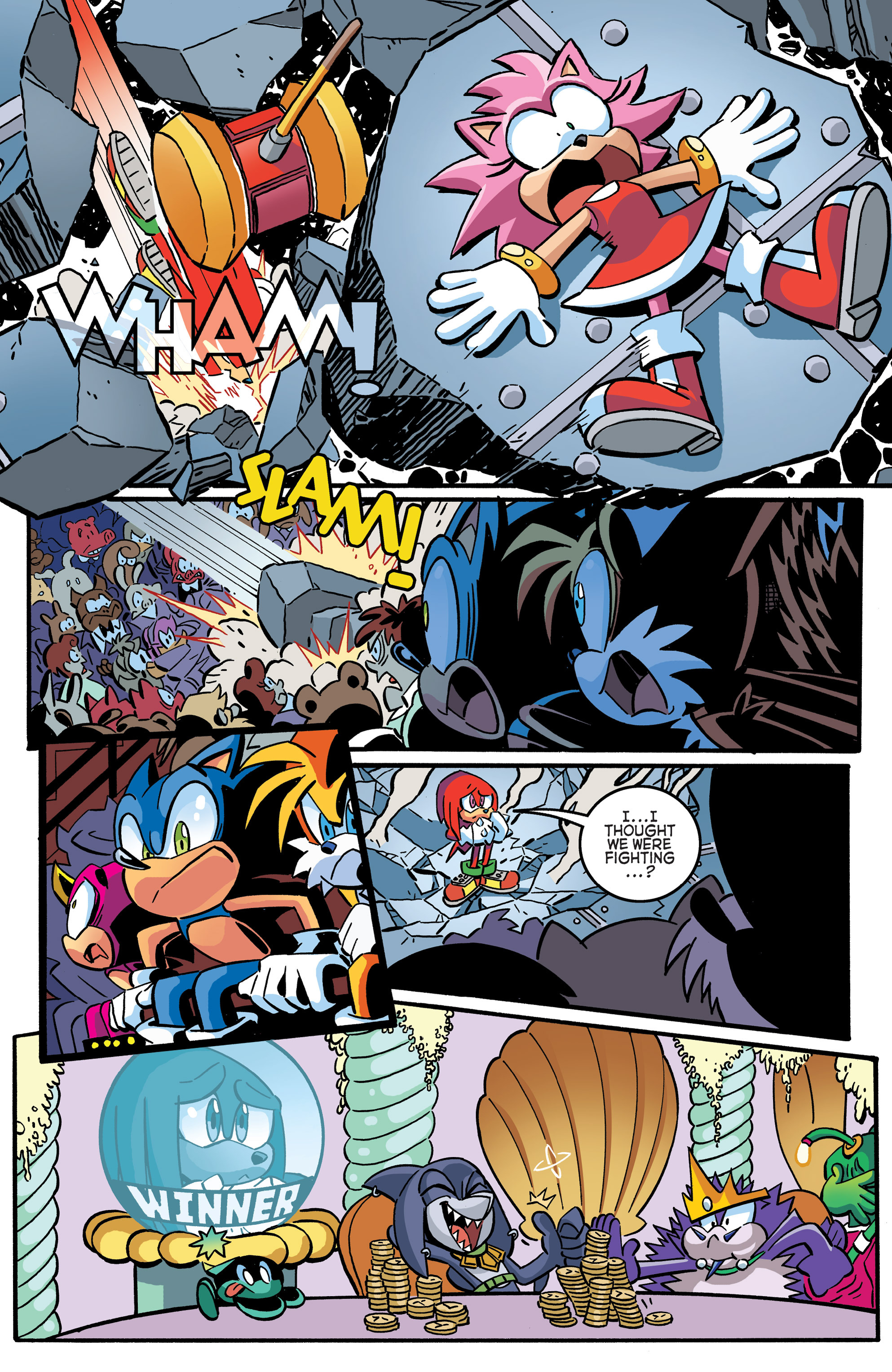 Read online Sonic The Hedgehog comic -  Issue #270 - 11