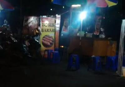 Mencari Rezeki Tambahan Halal, Polisi Muda Penjual Sosis Dipukuli Satpol PP
