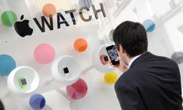 The Apple Watch have cornered 75% of the market share of smart watches