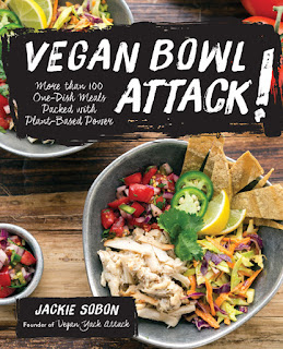 Vegan Bowl Attack book cover