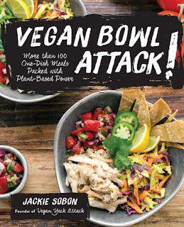 Vegan Bowl Attack book cover