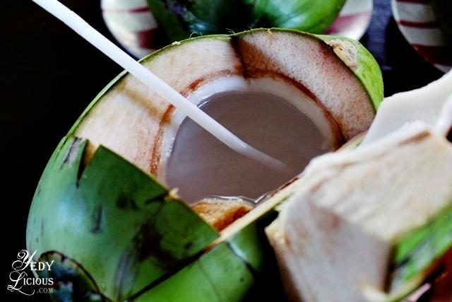 Buko Juice at Balinsasayaw Best Restaurants in Puerto Princesa Palawan Philippines YedyLicious Manila Food and Travel Blog