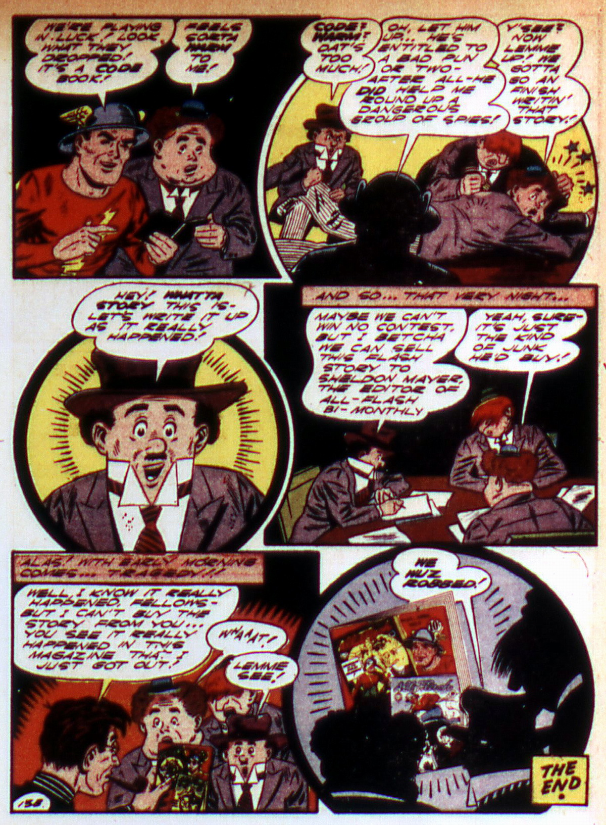 Read online All-Flash comic -  Issue #9 - 31
