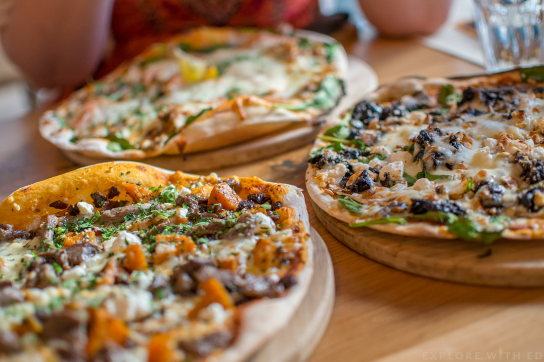 Pizzas at The Stable in Cardiff