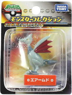 Skarmory Pokemon Figure Tomy Monster Collection Johto selection series