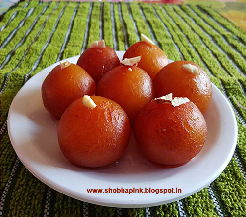 Instant Gulab Jamun  (Gulab Jamun Recipe Using Ready Mix)