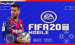 تحميل لعبة فيفا 2020 FIFA للاندرويد PPSSPP من ميديافاير