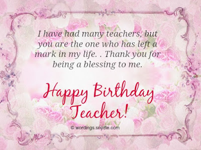 happy birthday teacher,birthday card for teacher