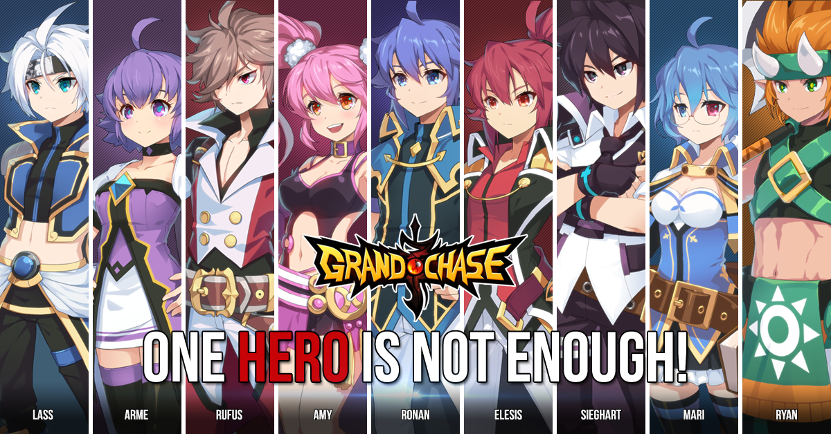 Grand Chase - Global Server characters