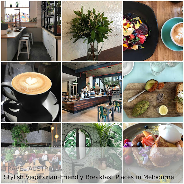 Travel Australia. Stylish Vegetarian-Friendly Breakfast Places in Melbourne