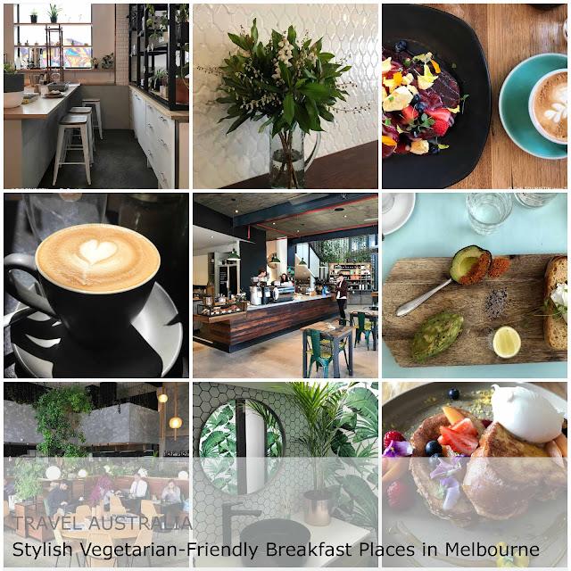 Travel Australia. Stylish Vegetarian-Friendly Breakfast Places in Melbourne