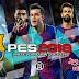 تحميل باتش برشلونة Barcelona الخرافي للعبة بيس 18 || PES 2018 v2.3.1 اخر اصدار
