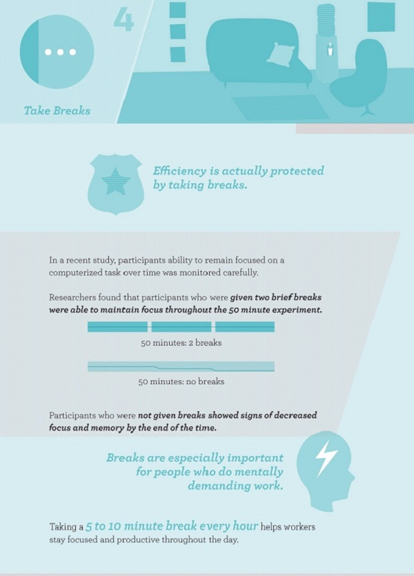 Infographic 6 Simple Ways To Avoid Burnout Part 4
