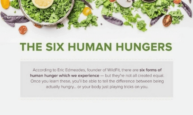 The Six Human Hungers