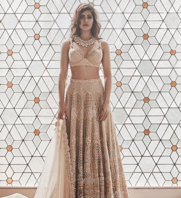 Samantha Ruth Prabhu Shares A Glimpse Of Her Wedding Attire