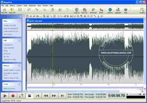 تحميل برنامج wavepad sound editor كامل مع الكراك