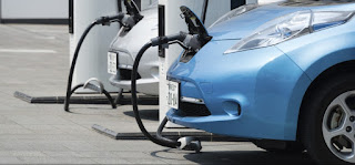 Electric cars charging (Credit: blog.ucsusa.org) Click to Enlarge.