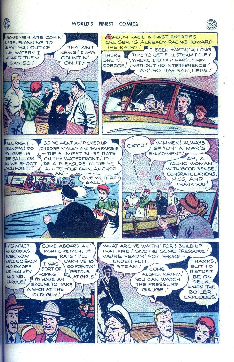 Read online World's Finest Comics comic -  Issue #43 - 35