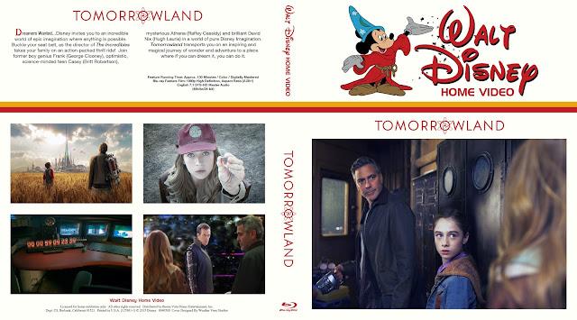 Tomorrowland Bluray Cover
