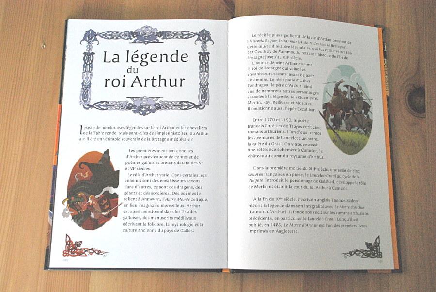 Comic Usborne - les aventures du roi Arhur